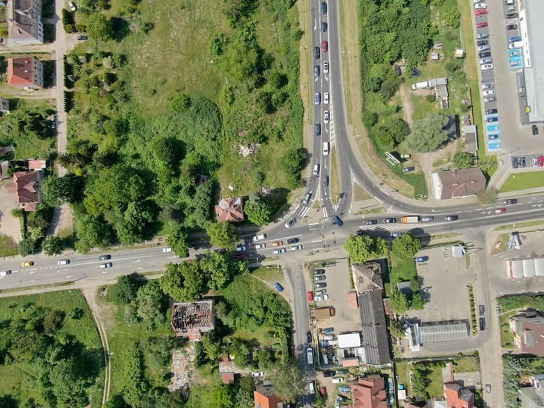 Węzeł Granitowa w Szczecinie. Plac budowy przekazany [ZDJĘCIA, WIZUALIZACJE]