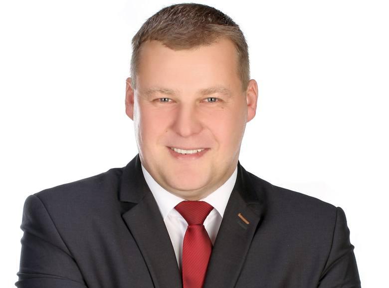 Mariusz Korzeniewski, wójt Wyszek