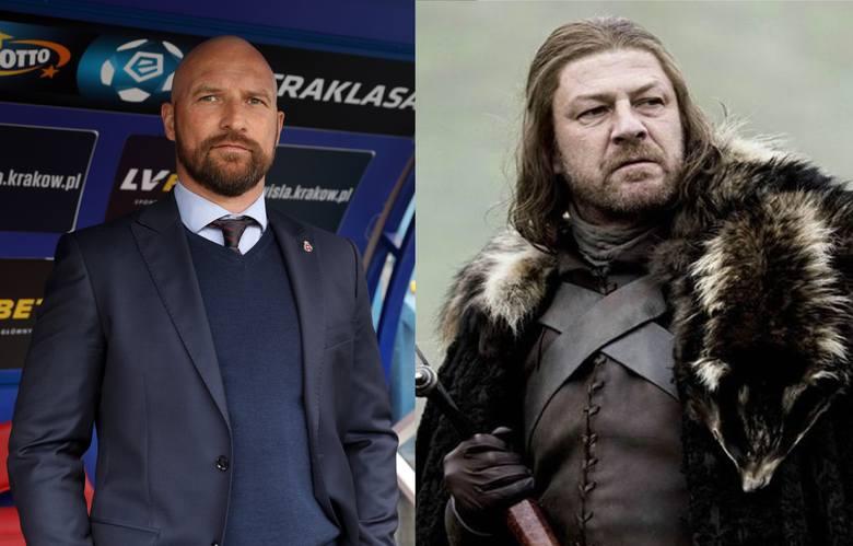 """Maciej Stolarczyk jako Lord Eddard """"Ned"""" Stark"""