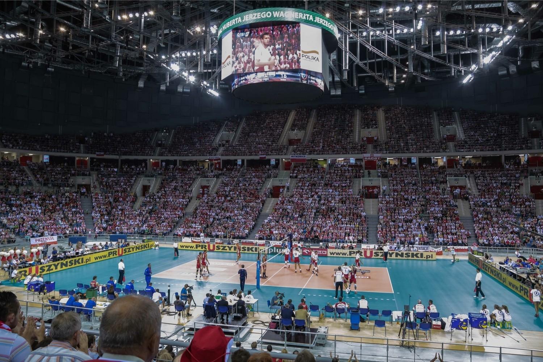 Kraków Arena stała się z miejsca także ulubionym miejscem fanów siatkówki