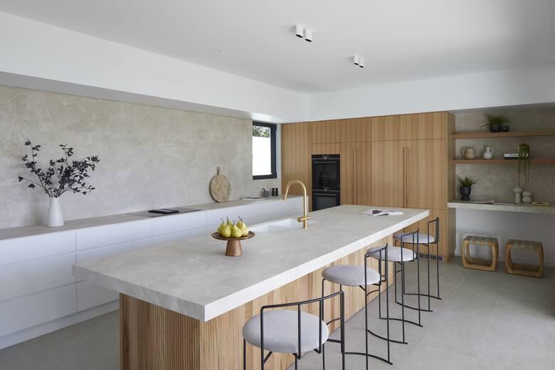 Laminam-Solaire Properties Australia - kolekcja I Naturali, spiek Diamond Cream