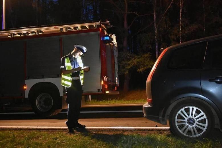 Wypadek pod Toruniem. Droga krajowa 91 na trasie Toruń-Włocławek częściowo zablokowana