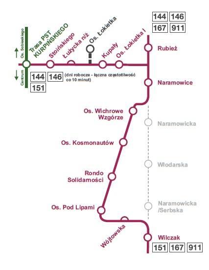 ZOBACZ, JAK ZMIENI SIĘ POZNAŃ. Tramwaj na Naramowice - najważniejsza obecnie inwestycja komunikacyjna!