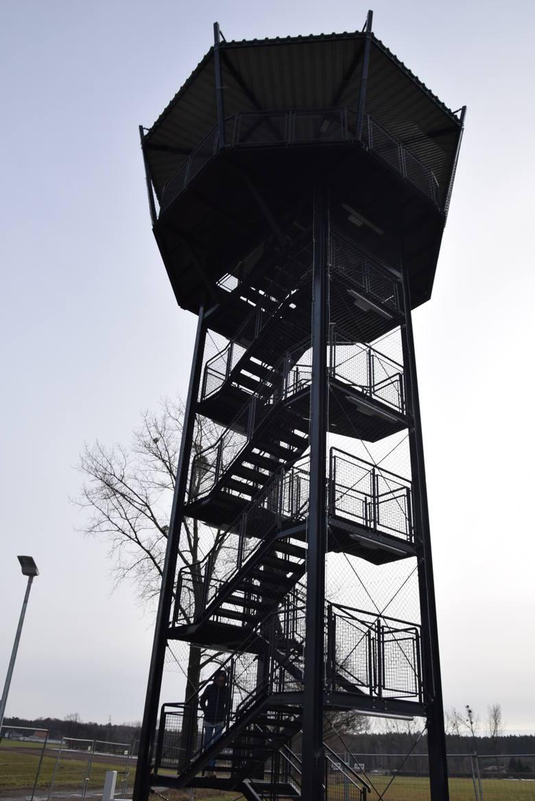 Wieża widokowa w Krotoszynie zostanie oficjalnie oddana do użytku w kwietniu.