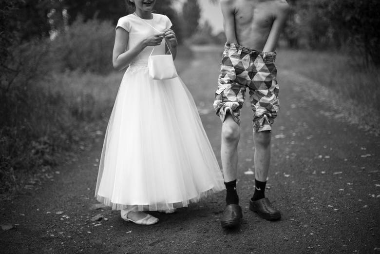 Fotoreportaż - I miejsce w kategorii ŻYCIE CODZIENNEAleksandria, powiat częstochowski. Jestem mamą Jasia i Amelki. Na co dzień moje dzieci nie używają