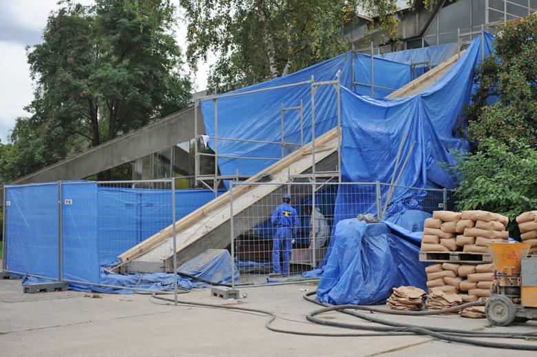 Arena w Poznaniu. Trwają remont budynku