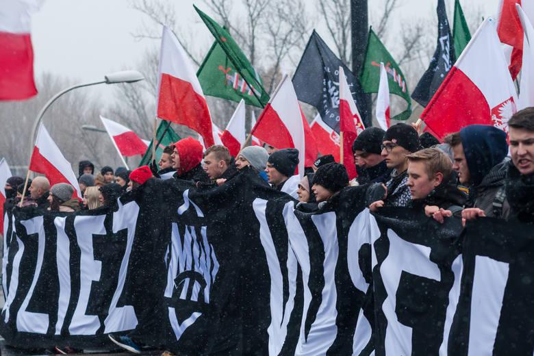 Marsz Niepodległości w 2016 roku w Warszawie