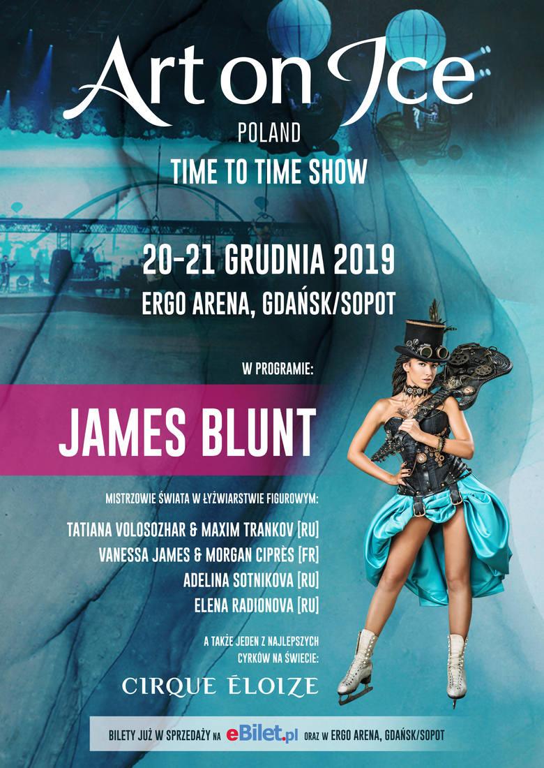 Art on Ice w Ergo Arenie. James Blunt wystąpi Gdańsku. Koncert i niezwykłe show estradowe odbędą się 21 grudnia 2019
