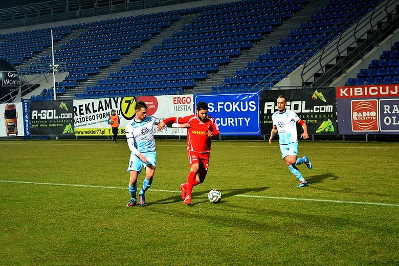 I liga: Stomil Olsztyn - Widzew Łódź 1:3 [ZDJĘCIA]