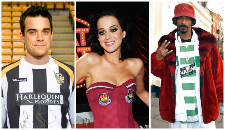 Muzycy w koszulkach piłkarskich. Kto komu kibicuje? [GALERIA]