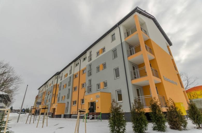 Nowy blok przy ul. Kożuchowskiej