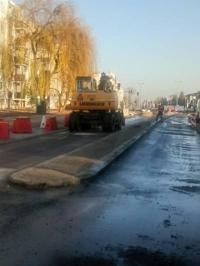 Ulica Hurynowicz w Toruniu zamknięta dla ruchu! Trwa jej modernizacja. Sprawdźcie jakie utrudnienia czekają na kierowców i pieszych