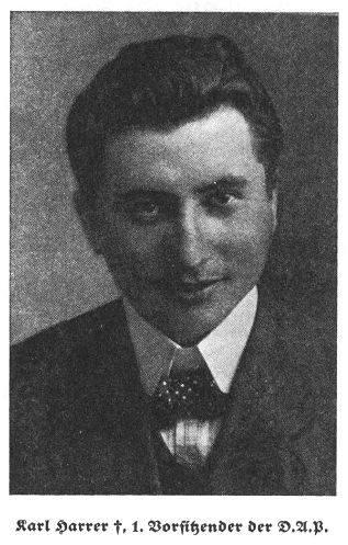 Karl Herrer - pierwszy przewodniczący DAP