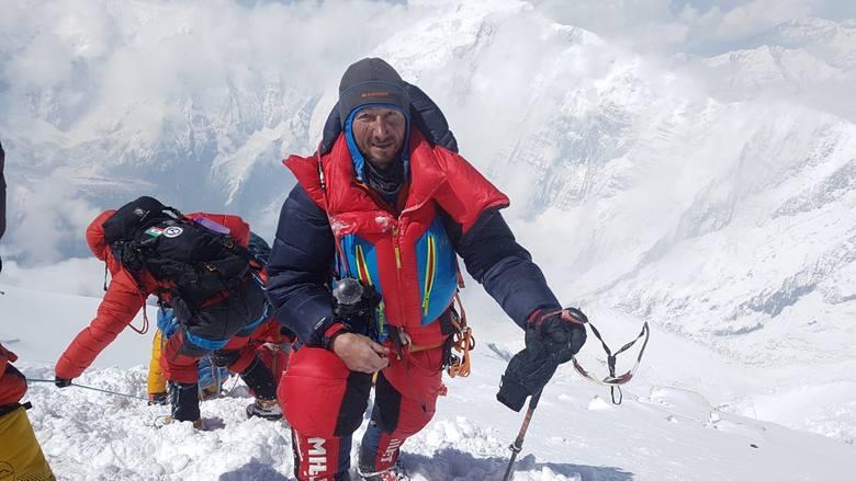 Himalaista z Białegostoku zdobył Annapurnę. Jarosław Zdanowicz: Na górze poczułem, że mój organizm powoli umiera