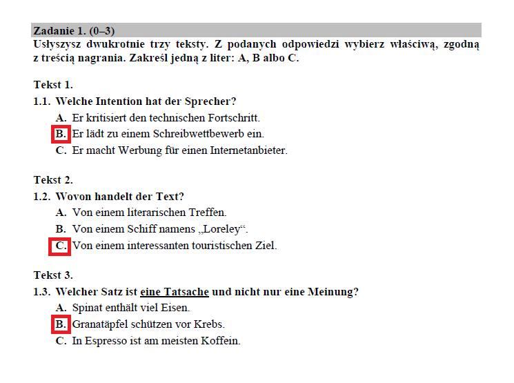 Matura 2020 j. niemiecki rozszerzenie. Odpowiedzi, arkusz CKE. Co było na egzaminie z j. niemieckiego na poziomie rozszerzonym 18.06.2020?