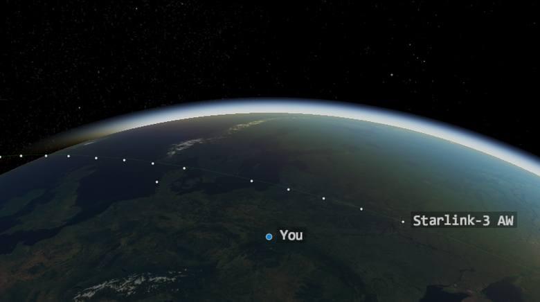 30 kwietnia satelity będą dobrze widziane nad Polską
