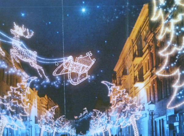 Tak ma wyglądać nowe oświetlenie świąteczne na ul. Piotrkowskiej