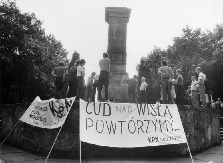 Planty. Pomnik żołnierzy radzieckich usuwano skoro świt  [ZDJĘCIA]
