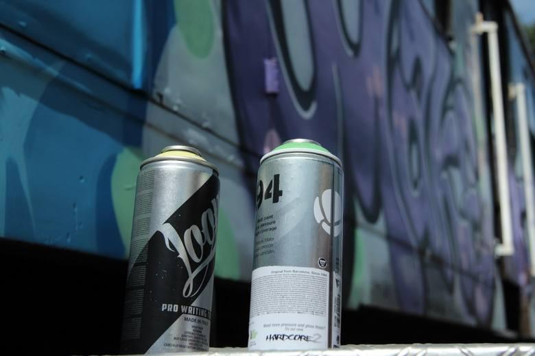 Grafficiarze pomalowali pociąg na ŚDM [ZDJĘCIA]