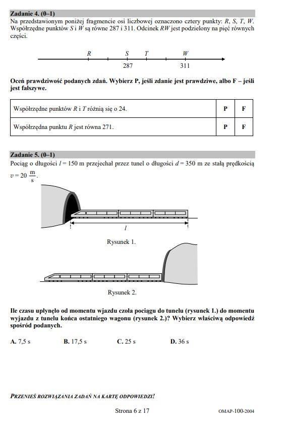 Egzamin ósmoklasisty 2020 - matematyka - mamy ARKUSZ CKE - zadania, odpowiedzi, rozwiązania [17.06.2020]
