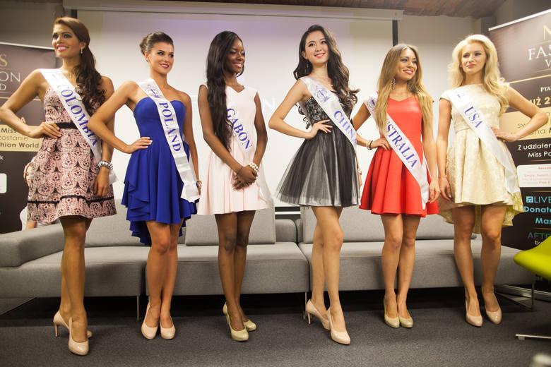 Miss Fashion World 2014. Egzotyczne piękności pojawiły się w Ptak Fashion City [ZDJĘCIA+FILM]