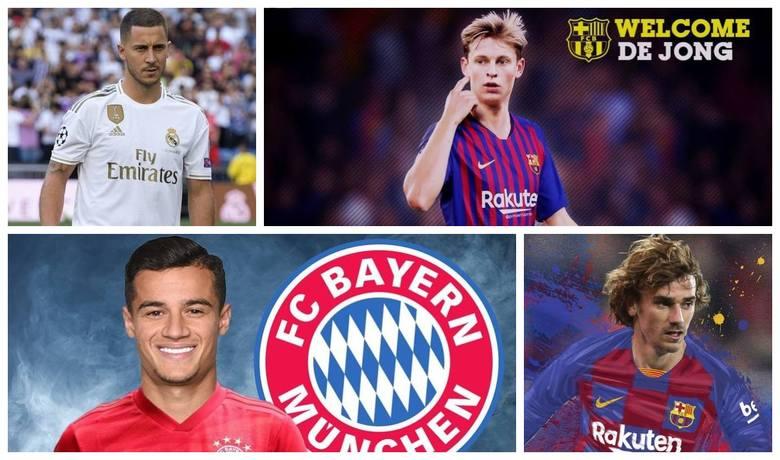 Ostatnie okienko transferowe było jednym z najciekawszych od lat. Najwięcej emocji wywołały zwłaszcza sagi transferowe Edena Hazarda i Antoine'a Griezmanna,