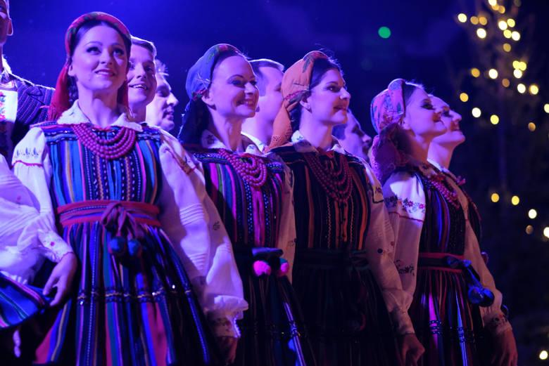 Zespół Pieśni i Tańca Mazowsze w Poznaniu w grudniu 2016 roku