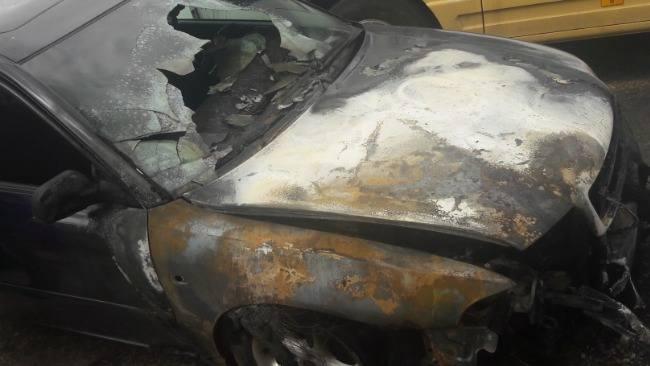 Trudna sytuacja rodziny z Borzytuchomia. Uciekali z płonącego samochodu, nie mają pieniędzy na chleb i czynsz za mieszkanie. Proszą o pomoc