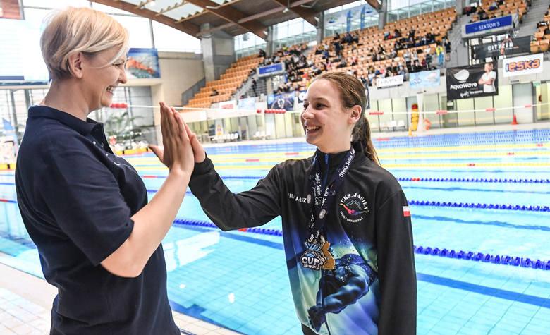Świetne wyniki młodych pływaków na Otylia Swim Cup w Szczecinie