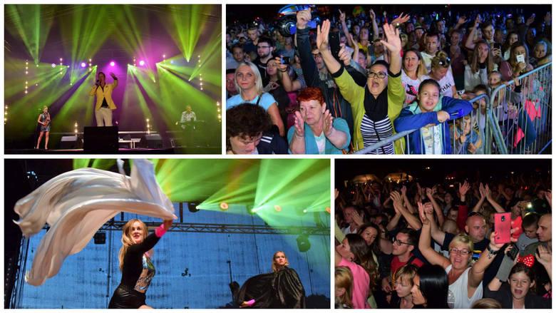 Trwają Dni Pakości. Sobotni wieczór upłynął w rytmach dance i disco-polo. Na stadion przybyło kilka tysięcy mieszkańców regionu. Najpierw publiczność