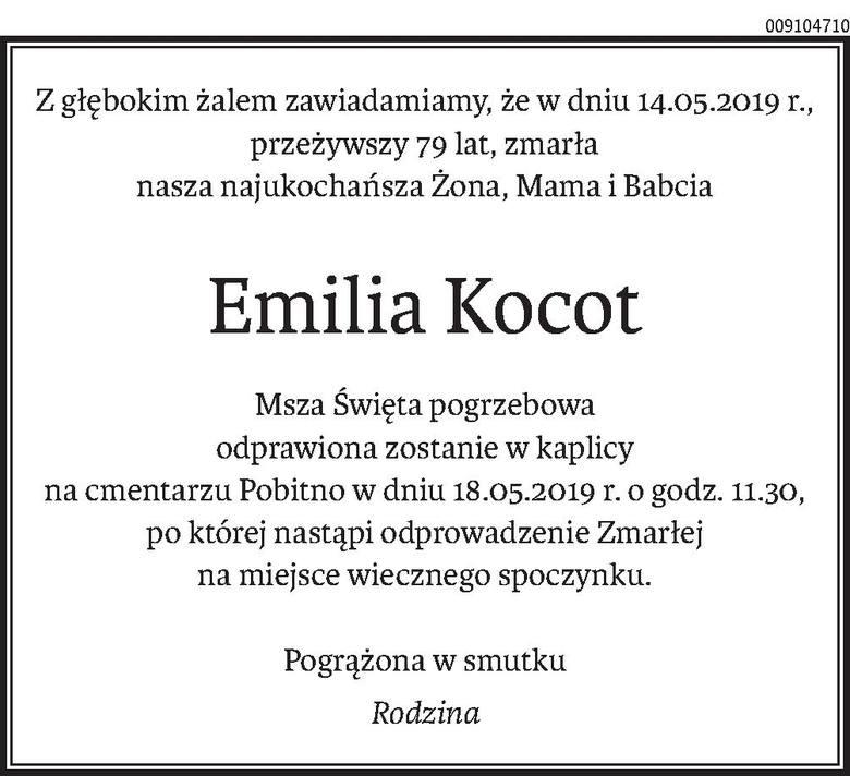 Nekrologi i kondolencje z dnia 17 maja 2019 roku