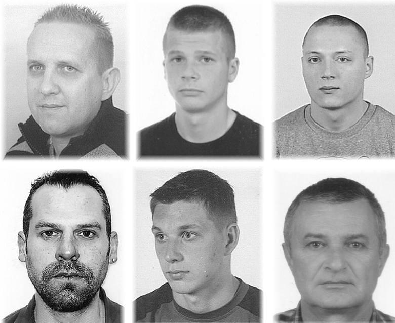 Komenda wojewódzka Policji w Szczecinie poszukuje tych mężczyzn. Są oskarżone o rozbój, kradzież, oszustwo, przemyt, sprzedaż narkotyków, a nawet szpiegostwo