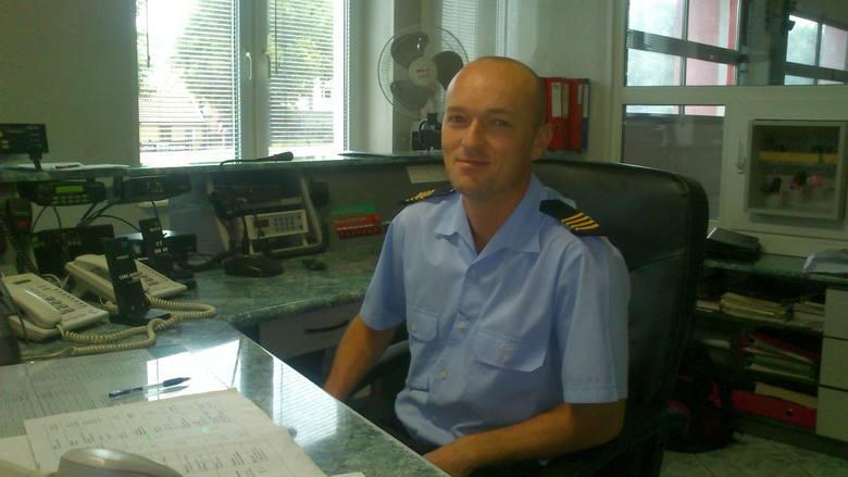 Zenon Rohde pracuje w powiatowym stanowisku kierowania. Głosujemy na niego wpisując w treść SMS: psp.38