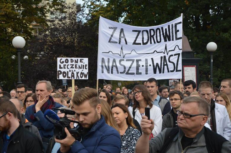 Szczecin poparł protest młodych lekarzy