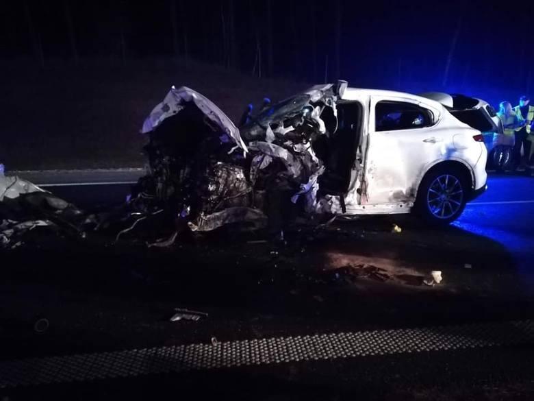 Tragiczny wypadek na S8 na granicy województwa dolnośląskiego i wielkopolskiego