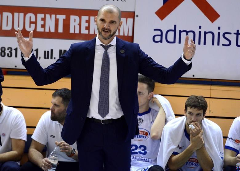 Koszykarze Hydrotrucku i trener Robert Witka zapraszają w niedzielę