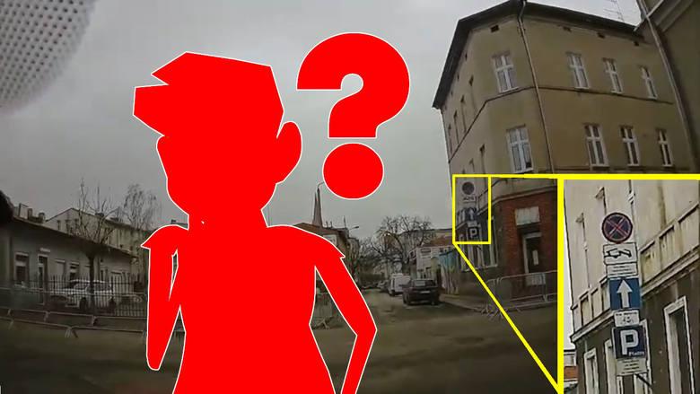 Kuriozalne oznakowanie w centrum Bydgoszczy. To może doprowadzić do stłuczki albo wypadku [wideo]