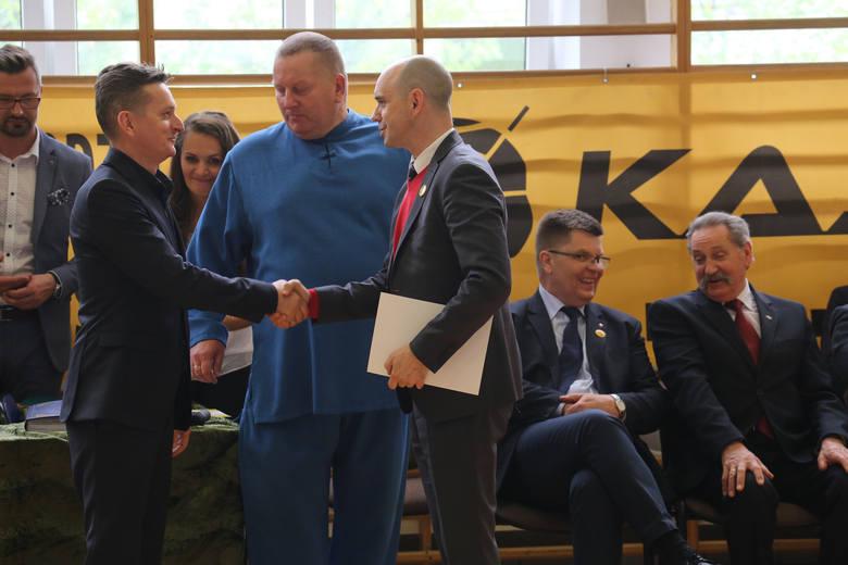 Poziom zawodów o tytuł Młodego Wojownika Podlasia jest bardzo wysoki i nie brakuje wyrównanych walk