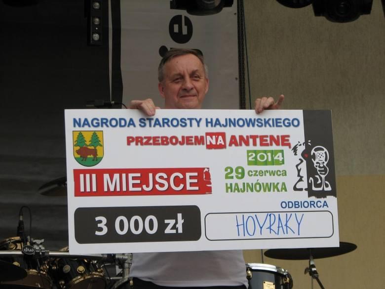 Finał konkursu Przebojem na antenę