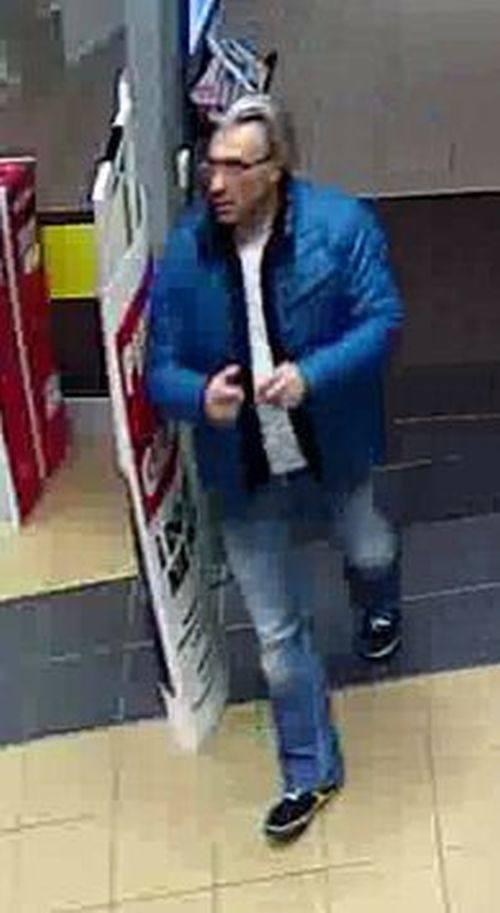 Policjanci z IV Komisariatu Policji w Białymstoku poszukują mężczyzny, który 22 marca w Galerii Alfa w Białymstoku dokonał kradzieży.