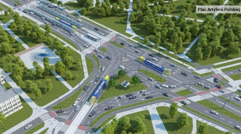 Trwa I etap prac związany z przebudową placu Rapackiego w Toruniu. Zgodnie z założeniami do lipca 2020 roku na placu Rapackiego i w jego okolicach powstanie