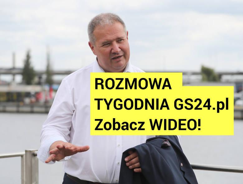 Leszek Dobrzyński (PiS): Trzeba przyznać, z promem nam nie wyszło [Rozmowa tygodnia GS24.pl, WIDEO]
