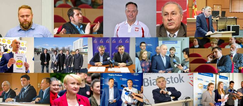 Oto kandydaci do Rady Miasta Białystok. Zobacz, kto będzie startował. Kandydatów możesz przeglądać za pomocą gestów (telefon) lub strzałek na klawia