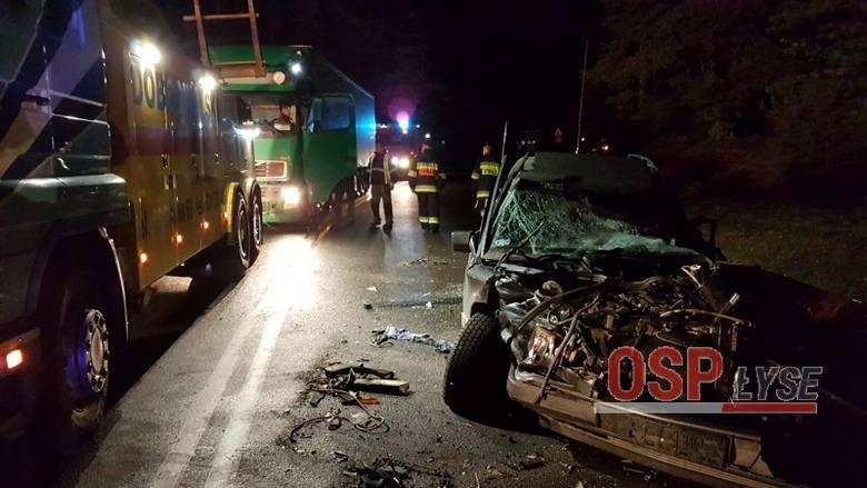 Poważny wypadek w Serafinie. Zderzyły się trzy auta [ZDJĘCIA]