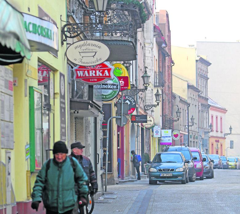Gliwice chcą wprowadzić strefę zamieszkania na uliczkach starówki