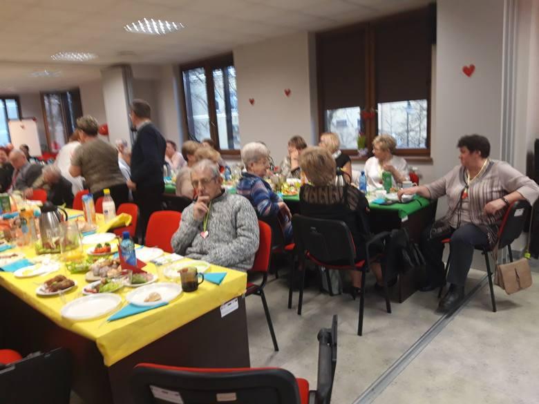 Walentynkowe spotkanie słupskich seniorów w SCOPIES