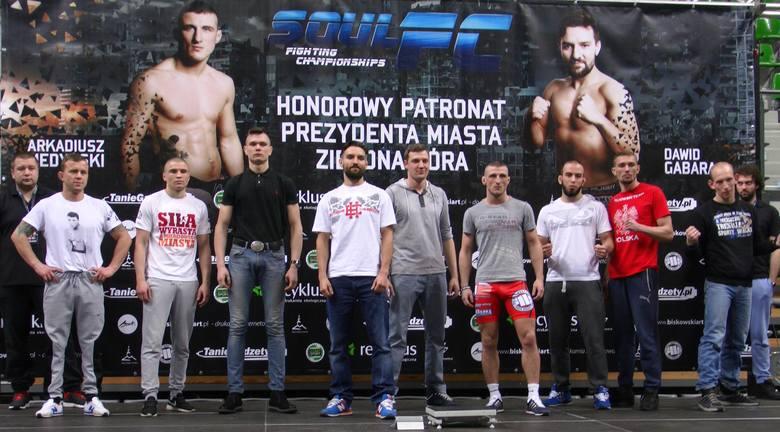Jakub LesińskiW sobotę, 12 marca o godz. 20.00 w zielonogórskiej hali CRS odbędzie się czwarta gala MMA Soul FC. W piątek, 11 marca w miejscu imprezy