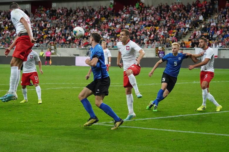 We wrześniu Polacy zagrali z Estonią w Białymstoku