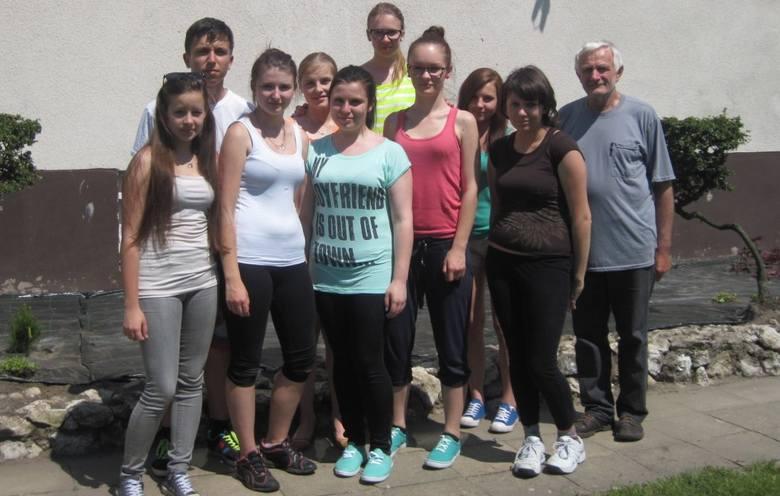 Uczniowie z Olesna w ramach praktyki pojechali do Gosławic