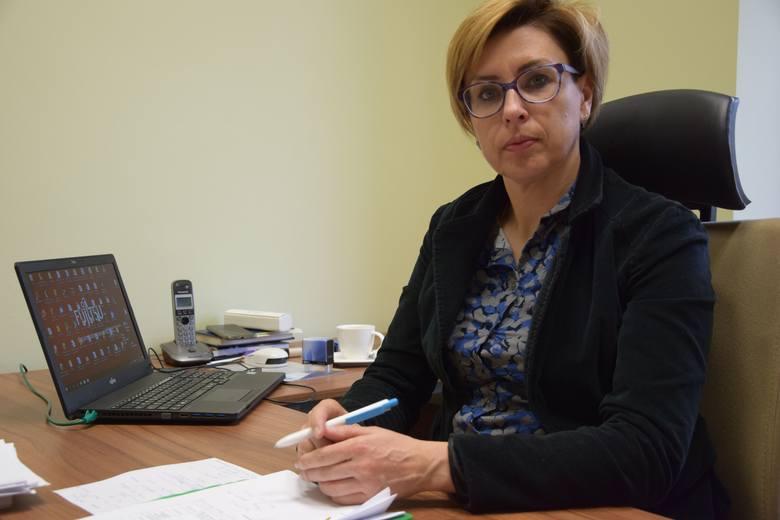 Sylwia Wojtasik, członek zarządu powiatu nowosolskiego. W zarządzie odpowiada m.in. za sprawy społeczne